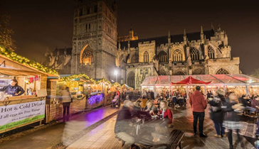 Residential Students, Trips | Exeter Christmas Market